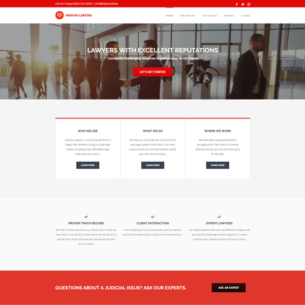 Web Design for Law Firms