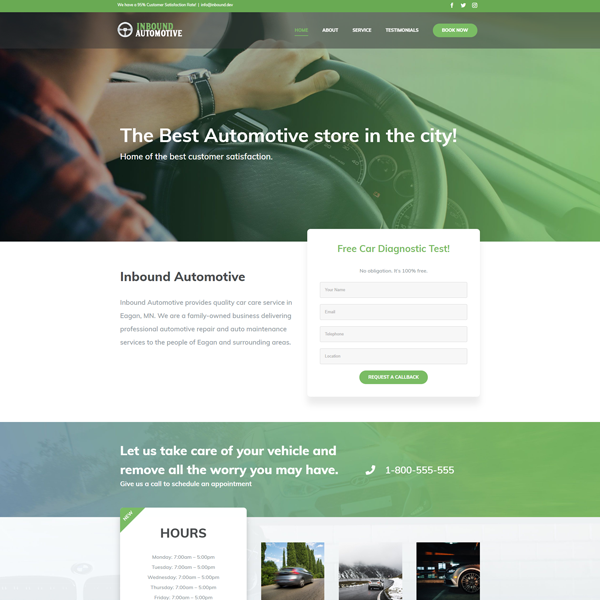 Web Design for Automotive